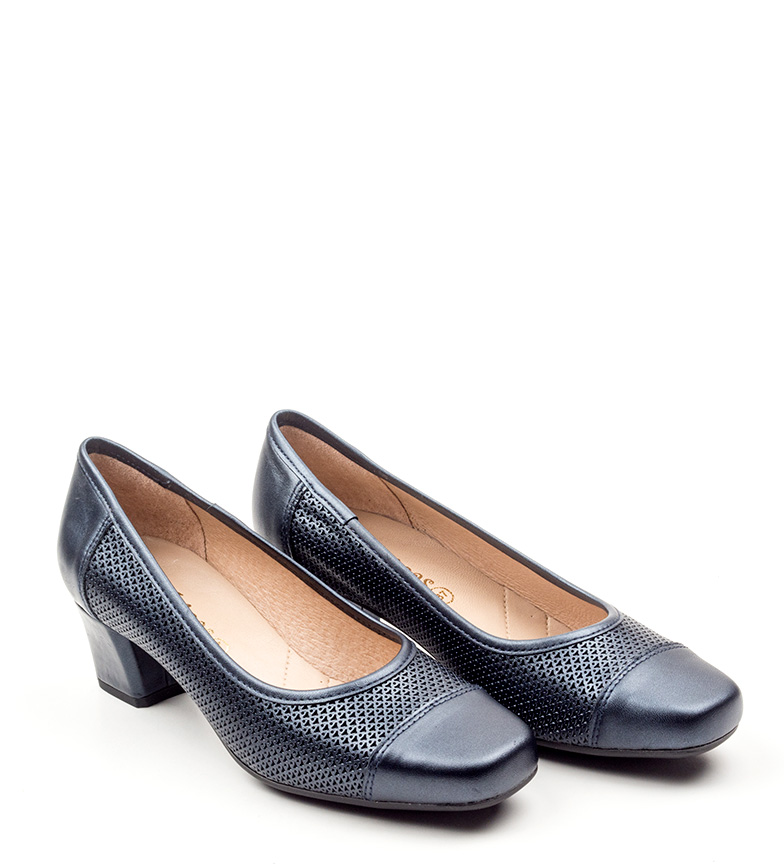 D´Chicas Zapatos de piel Dera azul