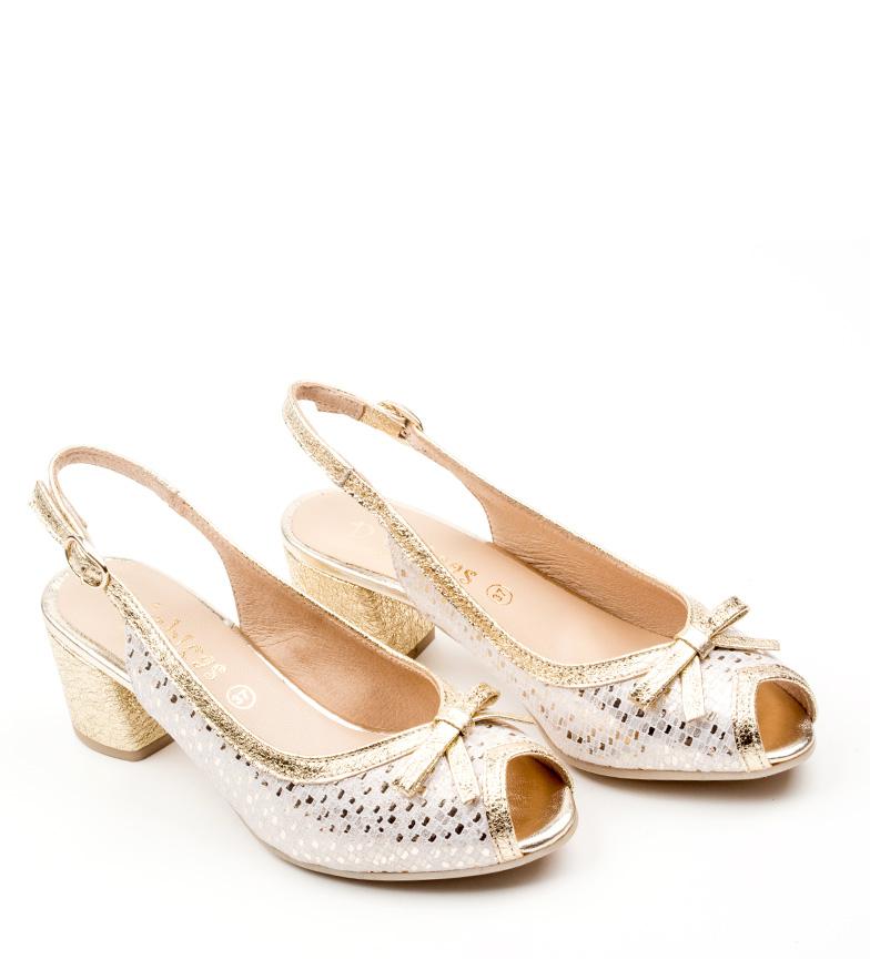 Zapatos Dchicas De Lorna Plata Piel 76YIbgvyf