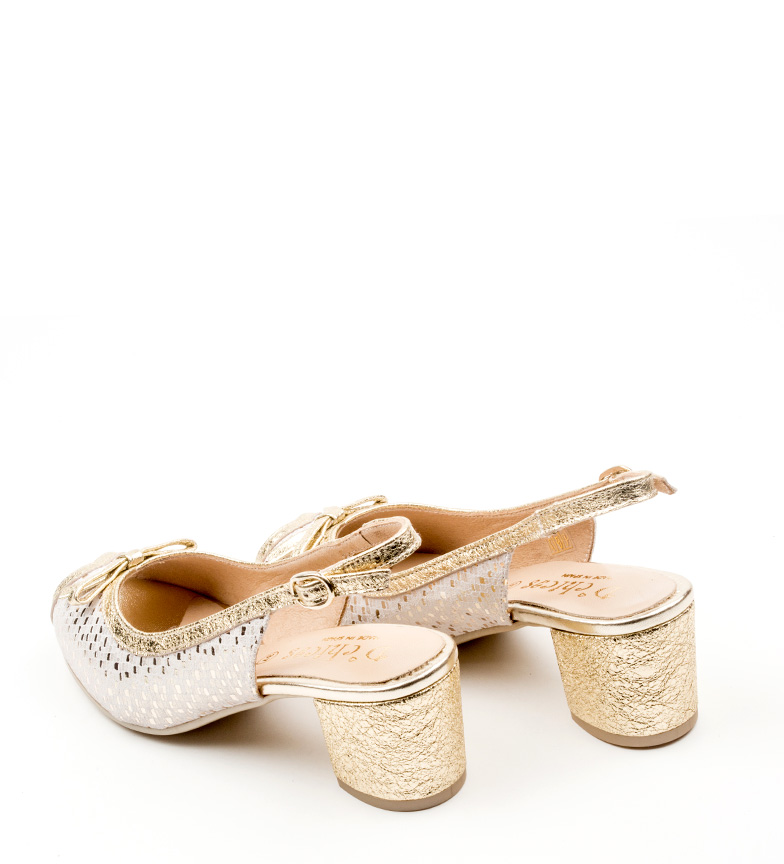 de Zapatos D´Chicas plata D´Chicas Lorna de Zapatos piel Lorna piel OTqPwpp