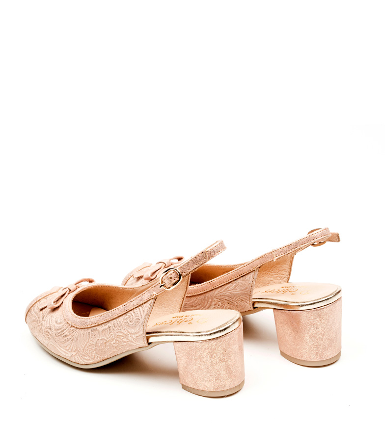 de oro rosa Zapatos Lorna piel D´Chicas AqzP6wU
