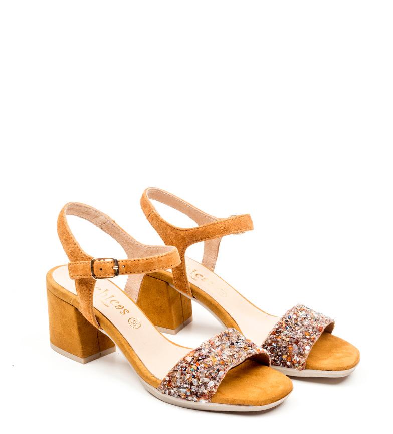 Sandalias de D´Chicas marrón piel Ariel ZaSAq8w