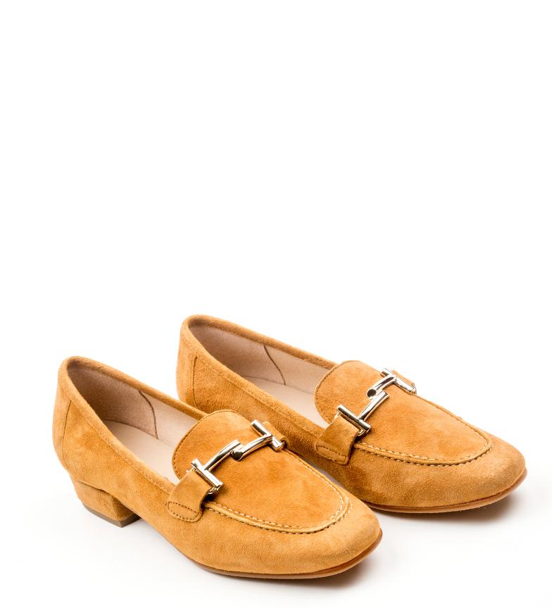 Albina D´Chicas de piel D´Chicas Zapatos marrón Zapatos ZwqXR1