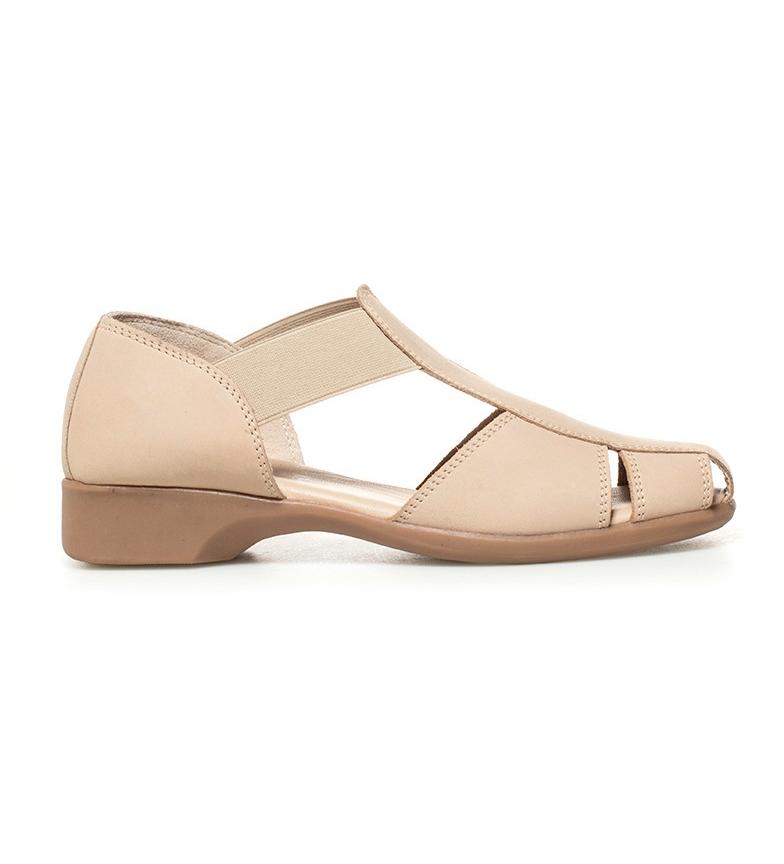 Comprar D´Chicas Nubuck scarpe in pelle ghiaccio Sina II tacco -Altezza: 2,5cm-