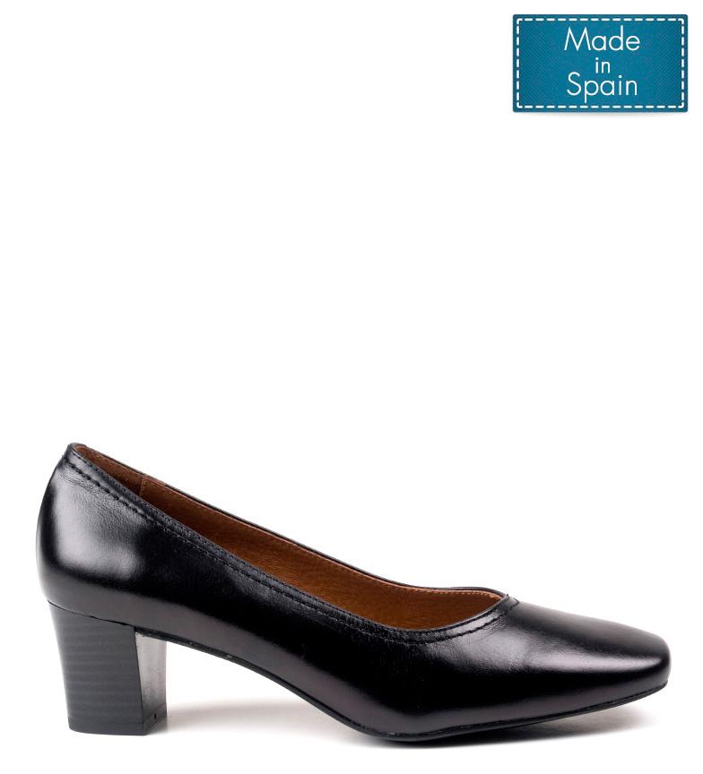Cm De Negroaltura Tacn4 Zapatos 5 Piel Dchicas Nora QrtCshdx