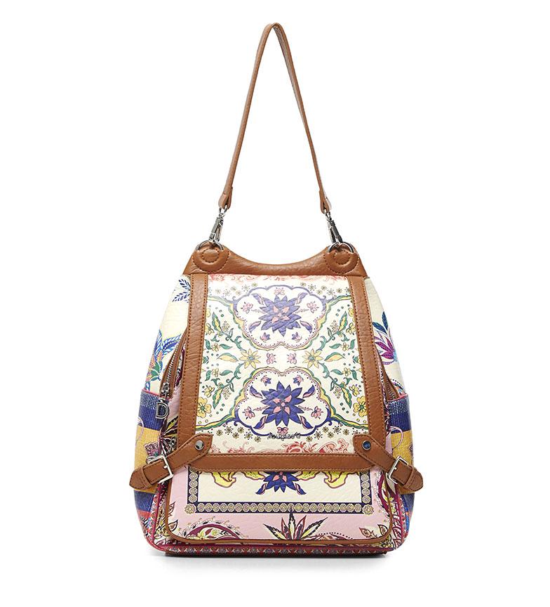 Comprar Desigual Zaino Grande Rosa Paisley, multicolore -29x12x33cm-