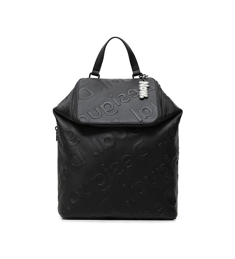 Comprar Desigual Colorama Logo zaino nero -27,5x13,7x33,3cm-