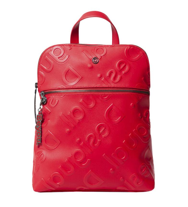 Comprar Desigual Colorama Nanamo backpack red -28x35,5x11 cm