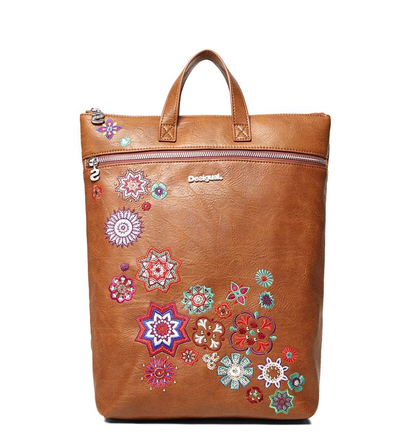 Comprar Desigual Backpack Nanit Baza camel -24x37x9cm