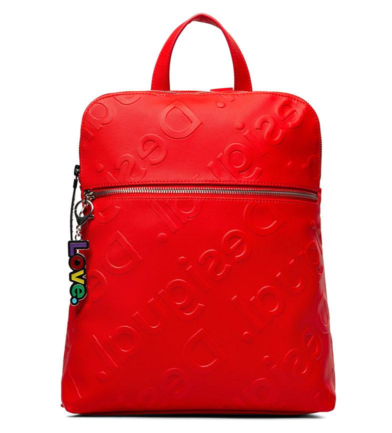 Comprar Desigual Zaino New Colorama Nanaimo rosso -28x11x35,5cm-