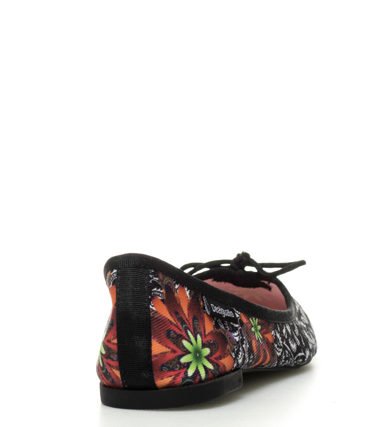 Desigual Bailarinas Missia Save The Queen negro