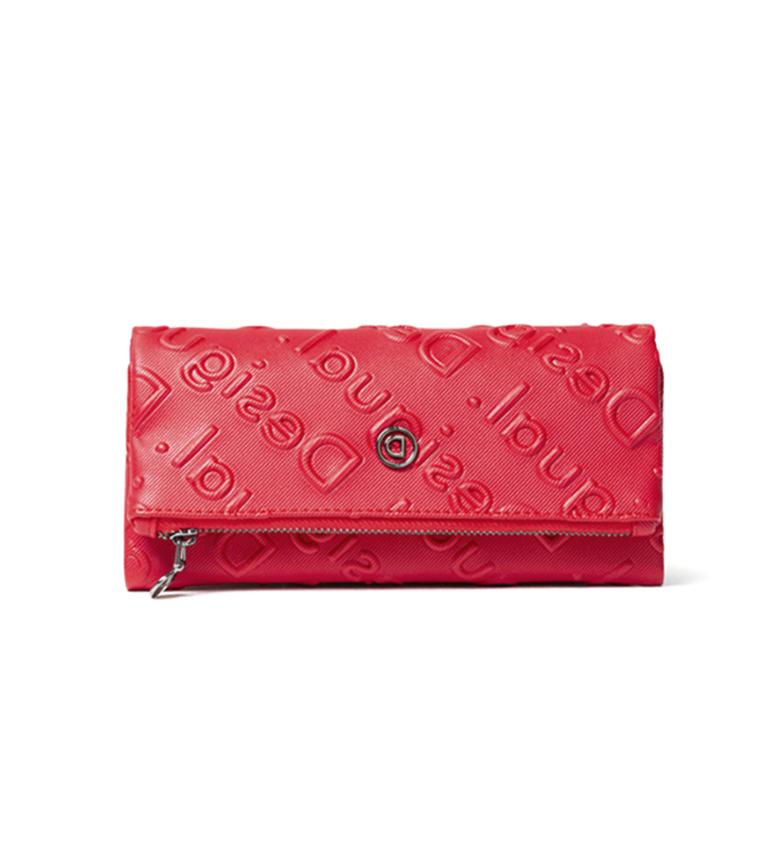 Comprar Desigual Colorama Rocio red wallet -19,20x3x10 cm