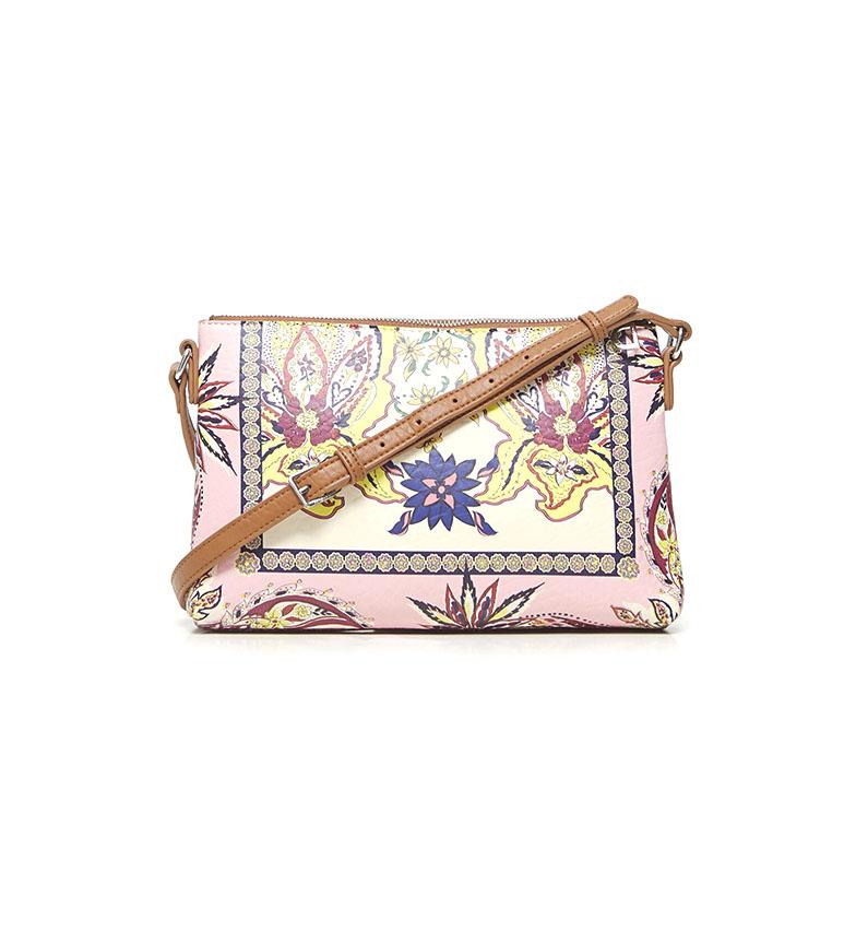 Comprar Desigual Bolso Bandolera Boho Urban rosa, multicolor -27.2x4x17.5cm-