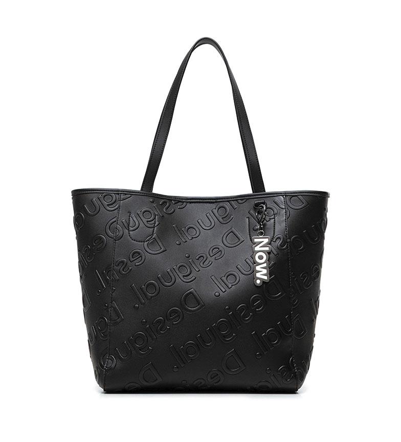Comprar Desigual Shopping Bag Logo black bag -25.5x16x27.5cm