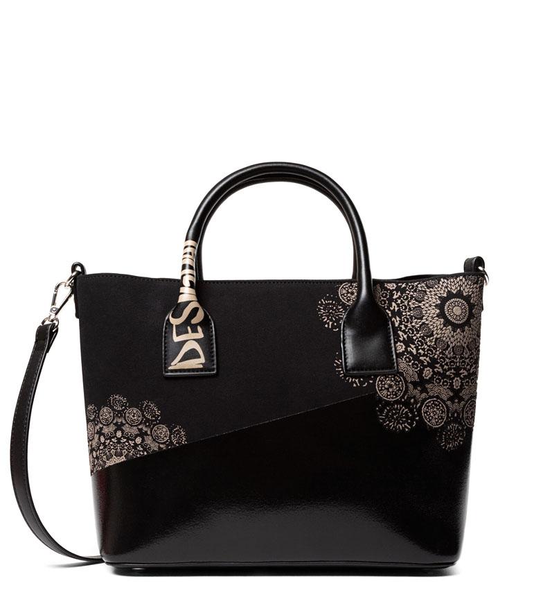 Comprar Desigual 2Tones Holbox bag black -29x24.5x13cm