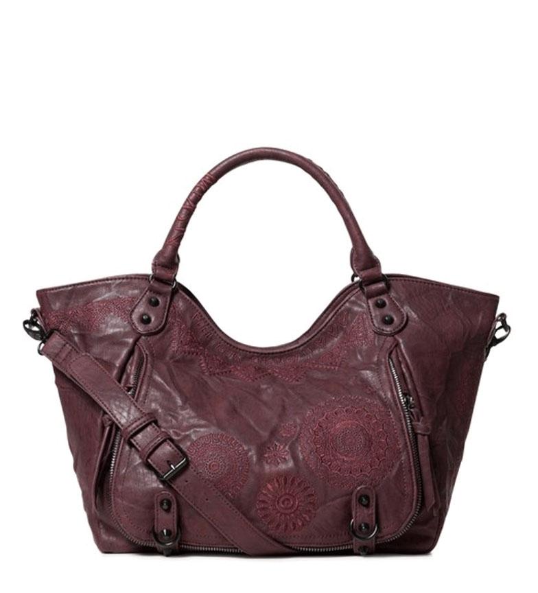 Comprar Desigual Albita bag Rotterdam burgundy -31x30x15cm