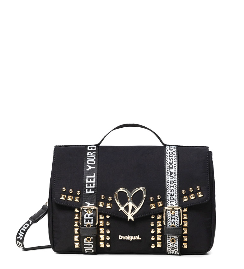 Comprar Desigual Bright Rock Bronx bag black -29.5x19x12cm
