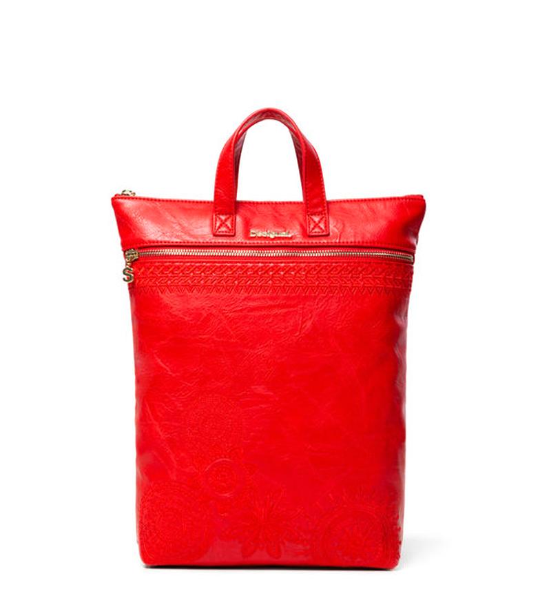 Comprar Desigual Sac à dos Ambre Foncé Rouge Baza -24x9x37cm