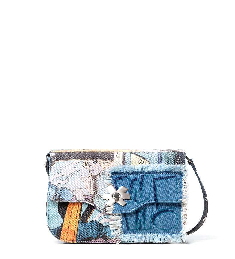 Comprar Desigual Kirby Amorgos blue bag -16x6x26cm