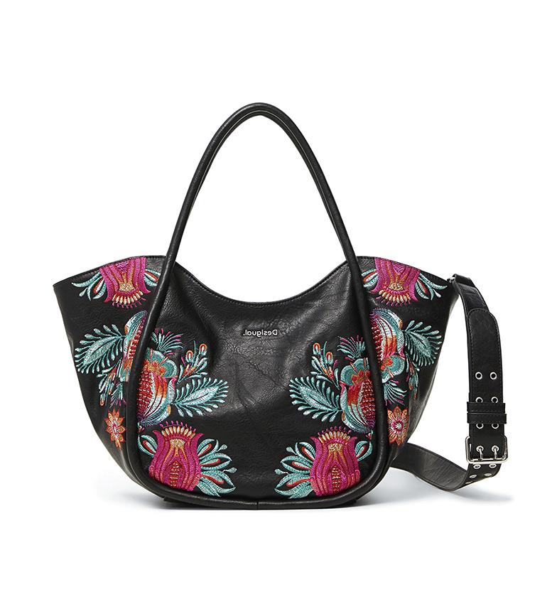 Comprar Desigual Louvre Rottum handbag black -26,70x16x22,50cm