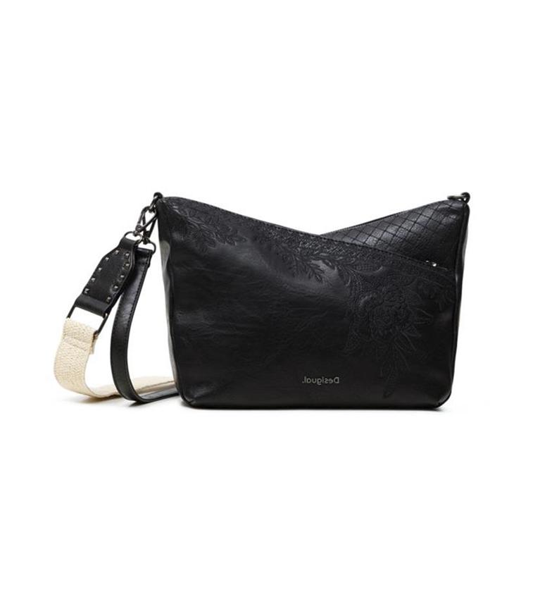 Comprar Desigual Mini sac à lettres Harry noir -23x26x13cm