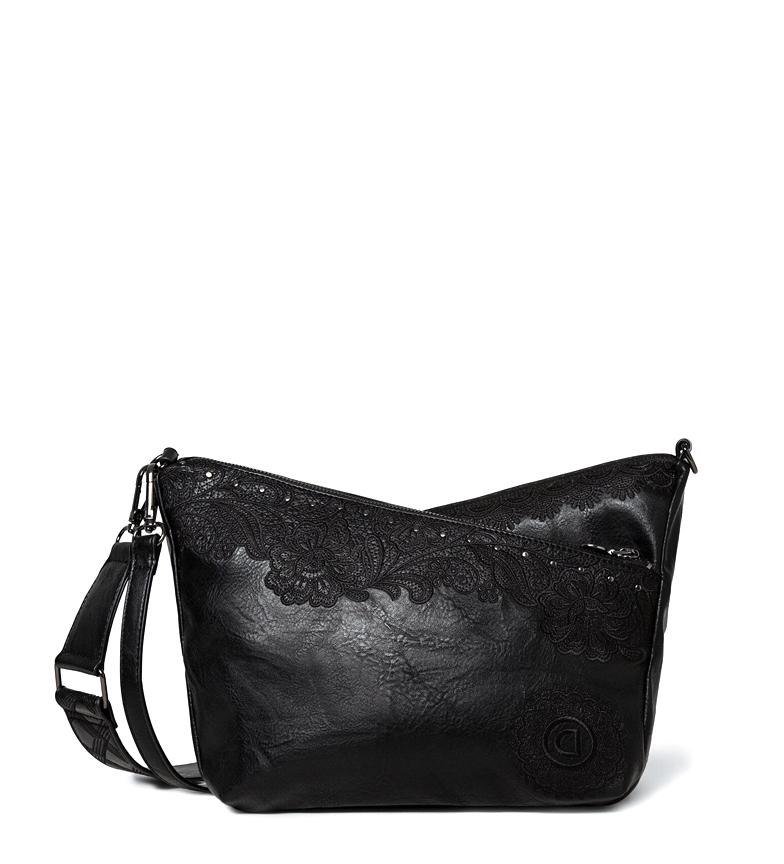 Comprar Desigual Melody Harry Mini black bag -24,6x11,2x19 cm