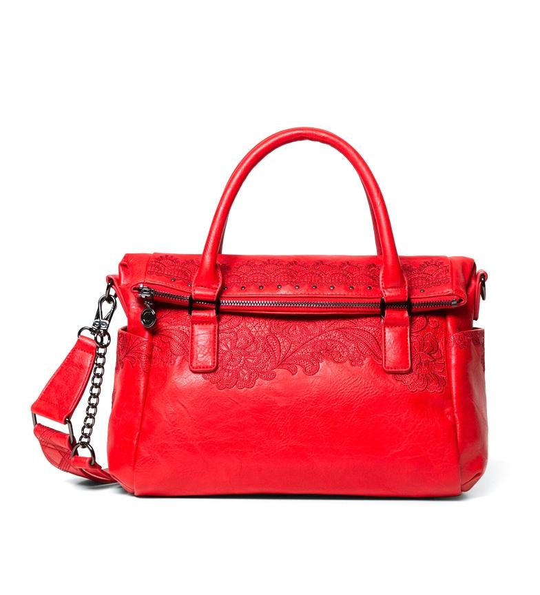 Comprar Desigual Bolso Melody Loverty rojo -29,5x16x 24cm-