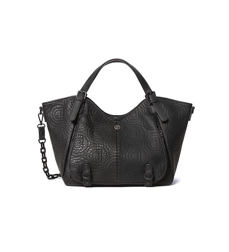 Comprar Desigual Minuet Rotterdam bag black -31x15x30cm