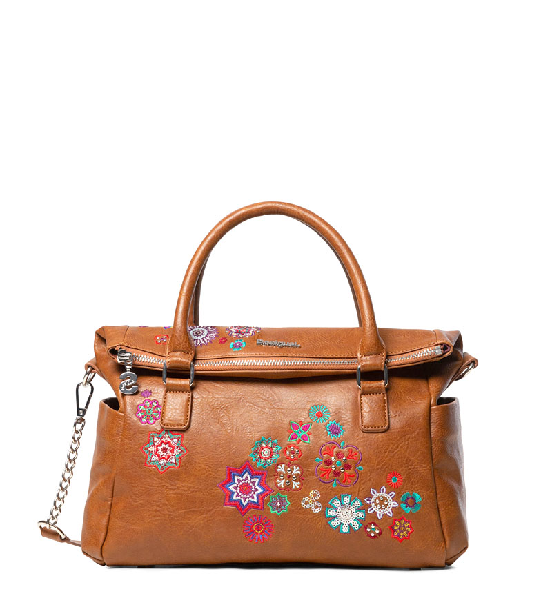 Comprar Desigual Nanit Loverty saco de camelo -24x16x16x29.5cm
