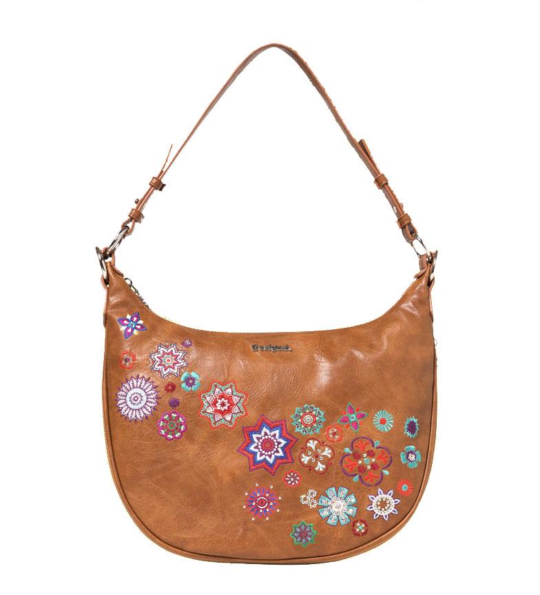 Comprar Desigual Handbag Nanit Siberia brown -36x24.8x2.5cm