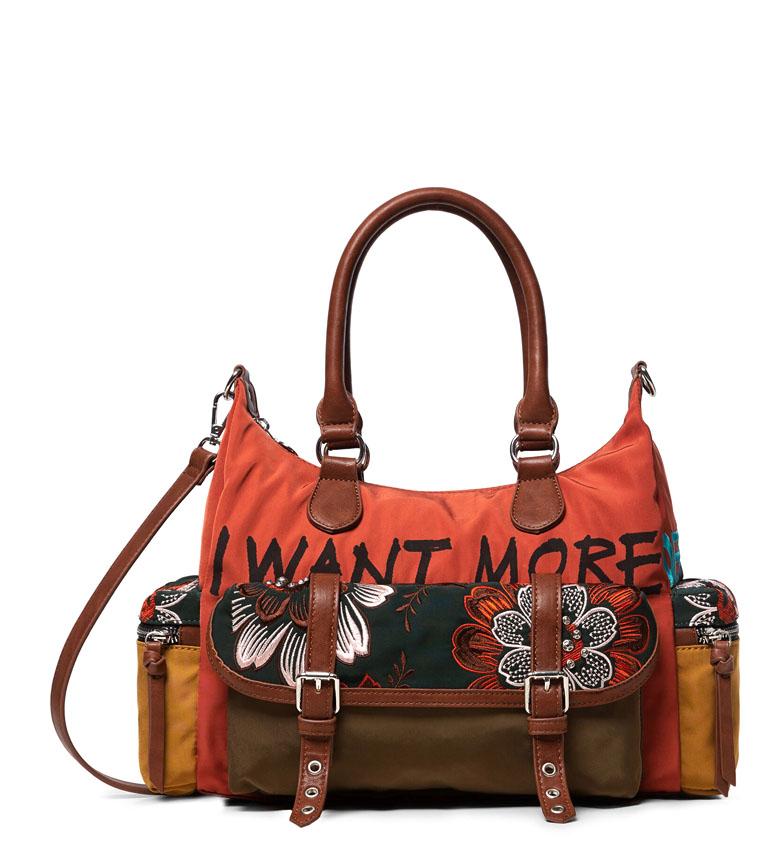 Comprar Desigual Bolso Rich Clementine London multicolor -32x25.5x12cm-