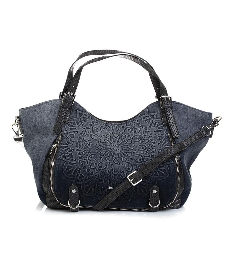 Comprar Desigual Bolsa azul Sete Mares Roterdão -48x28x18cm