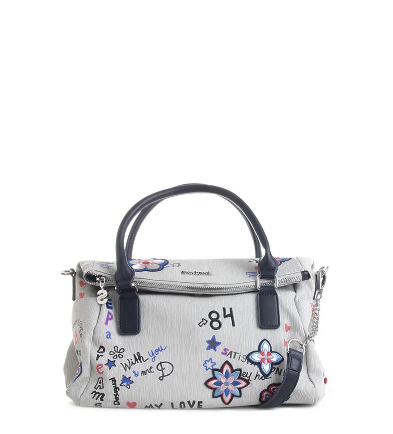 Comprar Desigual Grey Shibuya Loverty bag -33x20x12cm