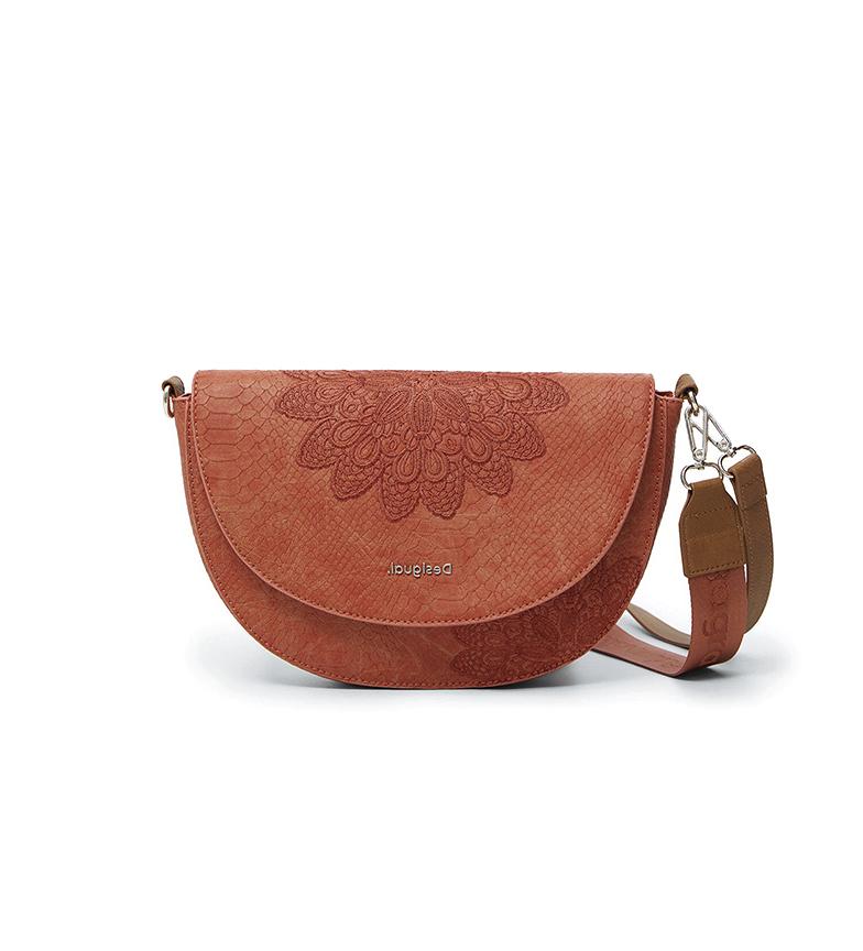 Comprar Desigual Summer Achilles Bremen Summer bag brown -27.5x4.7x16cm