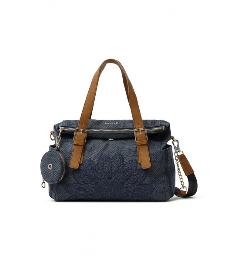 Comprar Desigual Summer Aquiles Loverty navy blue bag -33x25x9cm