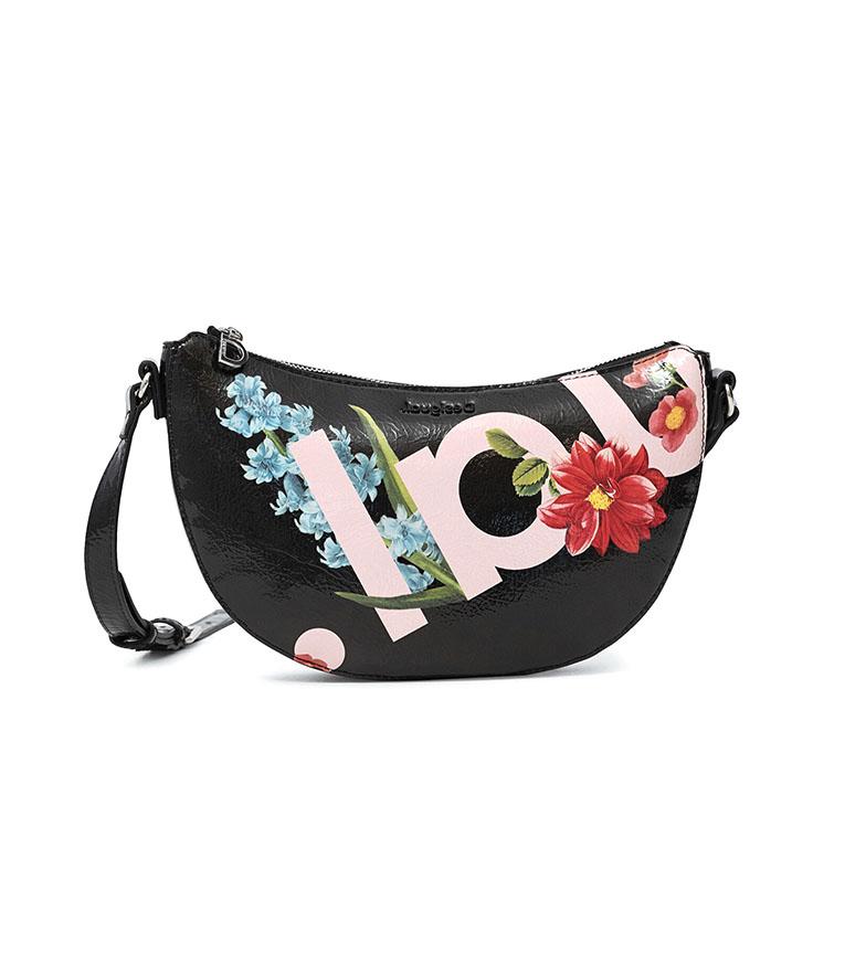 Comprar Desigual Mini bolsa de ombro Kiama preta -27.5x4x16cm