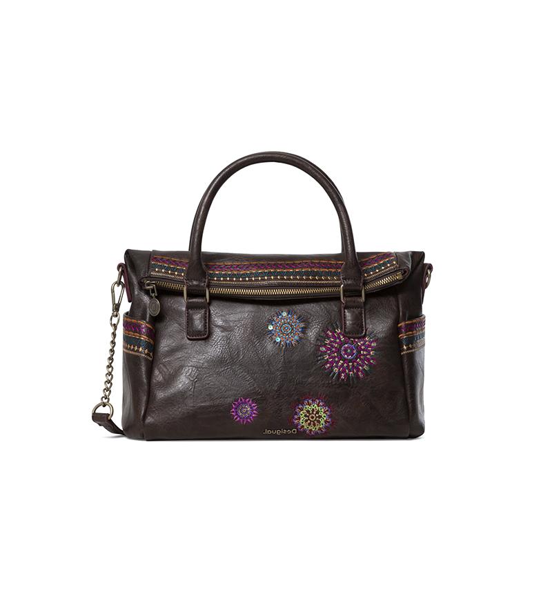 Comprar Desigual Astoria Loverty brown bag - 37x12x32 cm.