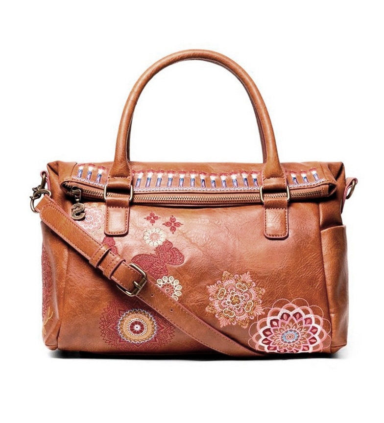 Comprar Desigual Borsa Chandy Loverty cammello -29,50x9x9x24cm