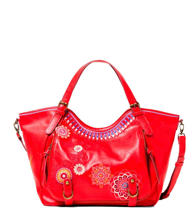 Comprar Desigual Bolso Chandy Rotterdam rojo -31x30x15cm-