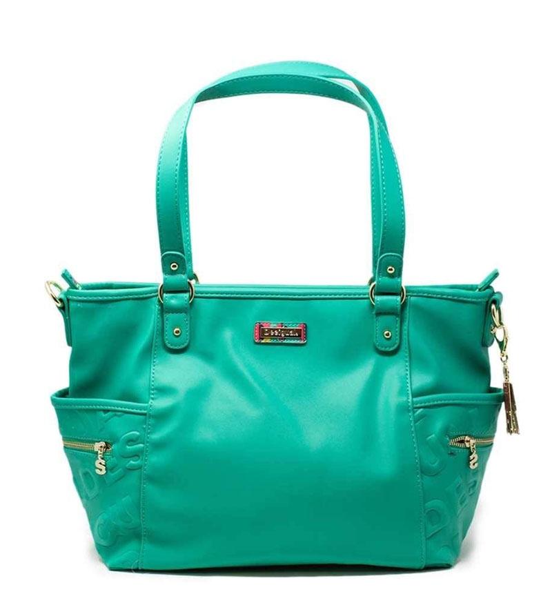 Comprar Desigual Maxton Colorama bag green -27x32x9.7cm
