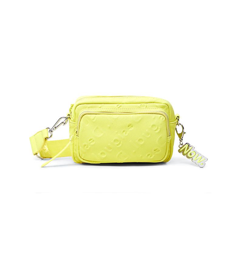 Comprar Desigual Colorama Petra borsa gialla -18.3x5.5x11.5cm-