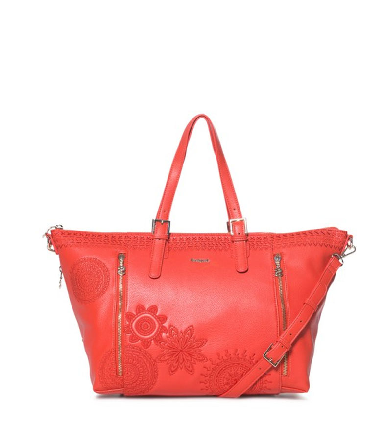 Comprar Desigual Handbag Dark Amber Verona red -36x27x13cm