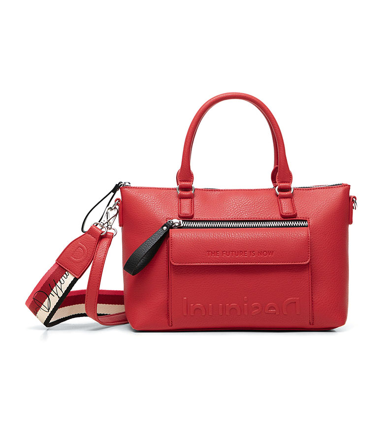 Comprar Desigual Half Logo Shoulder Bag Half Logo red -29.4x12x22cm
