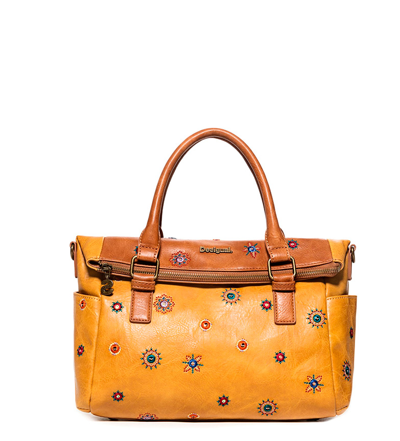 Comprar Desigual Bag Julietta Loverty camel -33x14x24cm-