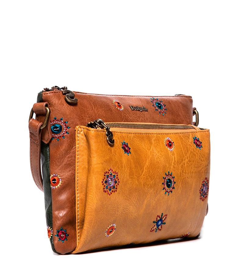3533f03d0 Comprar Desigual Bolso Julietta Toulouse marrón -26x1x17cm- - Tienda ...