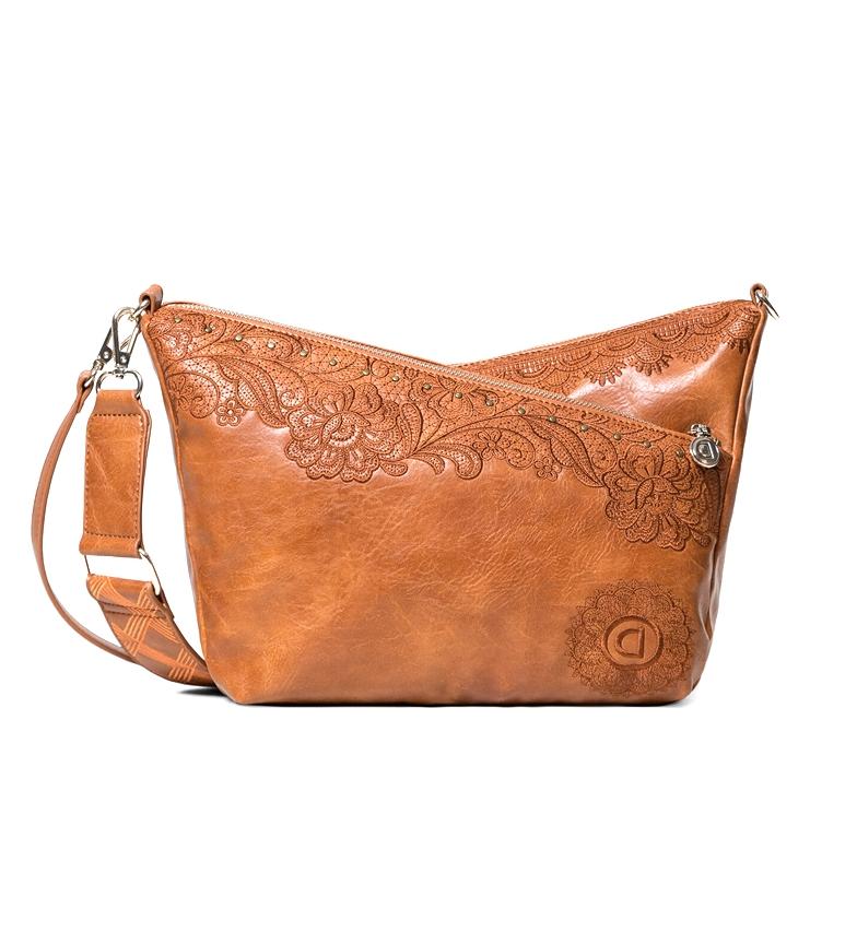 Comprar Desigual Melody Harry Mini saco castanho -24,6x11,2x19 cm