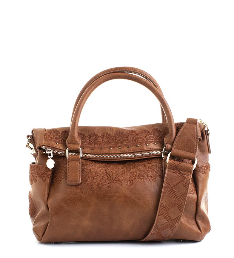 Comprar Desigual Melody Loverty camelo saco escuro -29,5x16x 24cm