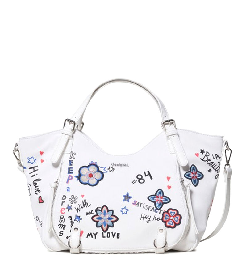 Comprar Desigual Rotterdam Shibuya sac blanc -31x15x30x30cm