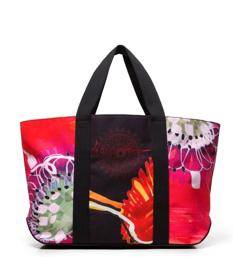 Comprar Desigual Shopper bag Poppy Flower Medina multicolor -32x18x57cm-