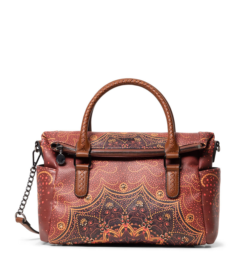 Comprar Desigual Tekila Sunrise Loverty bag brown -24x31x16cm