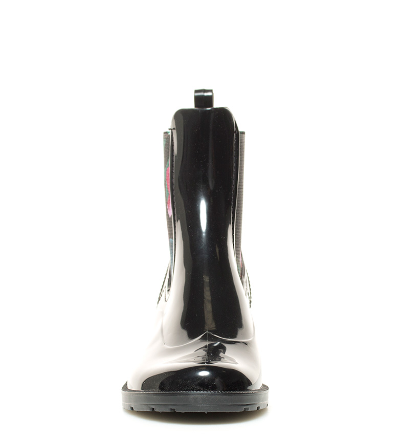 Desigual Desigual negro Ankle Rain de agua Botas Botas Amapola frqfw
